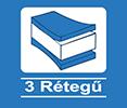 3 rétegű ikon